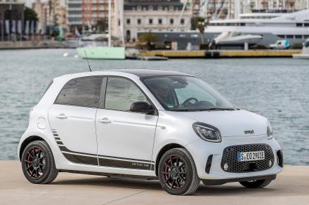 Smart Forfour Electric Hatchback 60kW EQ Pulse Premium 17kWh 5dr Auto [22kWch]