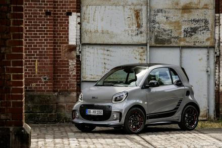 Smart Fortwo Electric Cabrio Select vehicle
